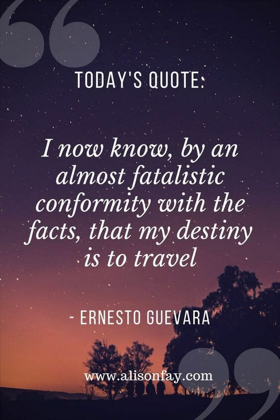 Inspirational Travel Quote Pin