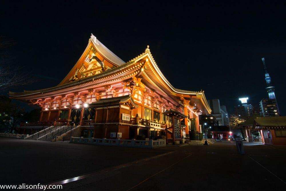 Sensoji Temple, Tokyo - Alisonfay.com