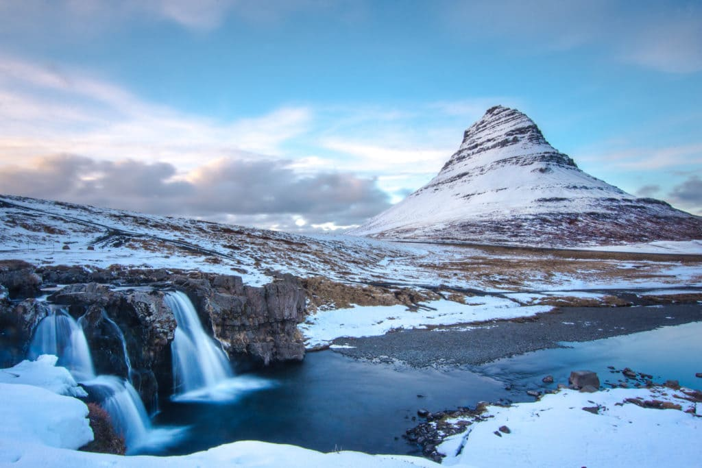 Kirkjufell Waterfall and Mountain, Iceland