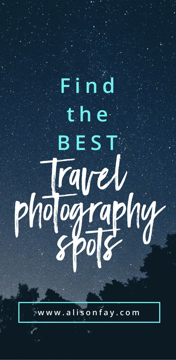Best Travel Photography Spots - Pin