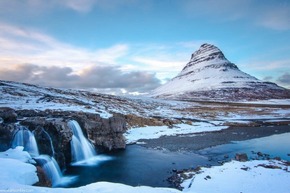 Mount Kirkjufell, Iceland.
