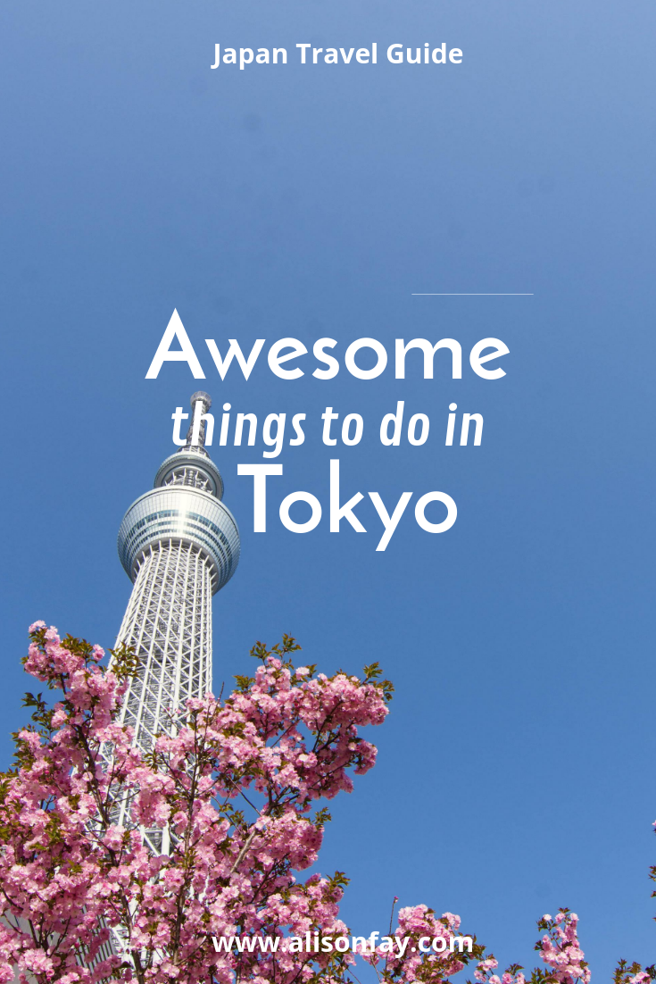 Awesome things to do in Tokyo