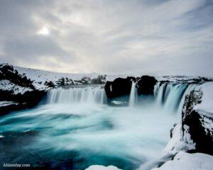 Godafoss waterfall