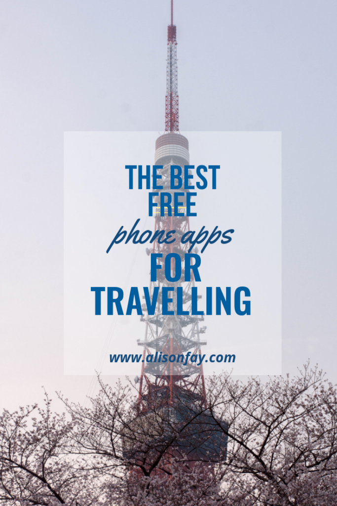 Best free travel apps pin