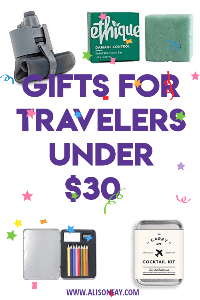 Gifts for travellers under $30