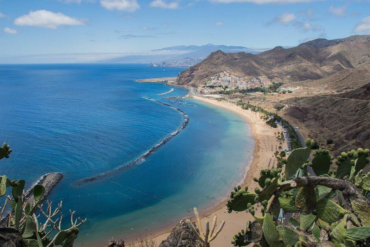 Santa De Cruz Beach in Tenerife - Alison Fay Travel Photography