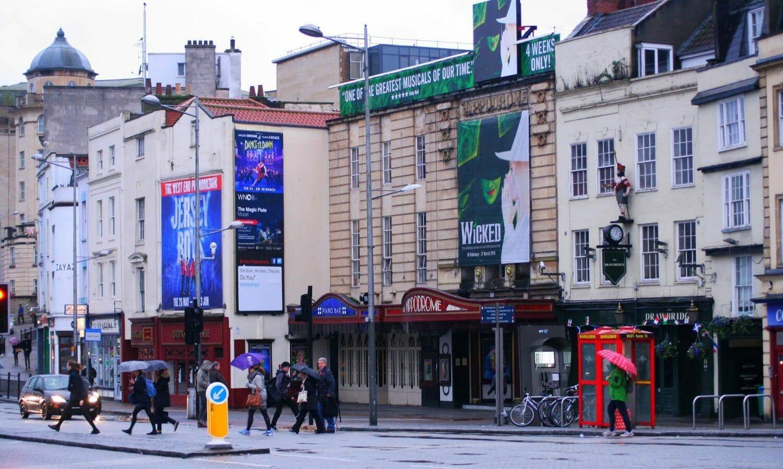 Photograph of Bristol Hippodrome, Bristol Travel Photography