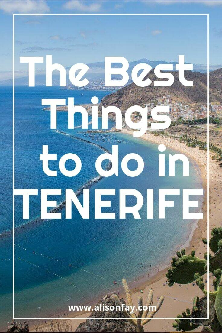 The Best Things To Do In Tenerife - Alison Fay Photography