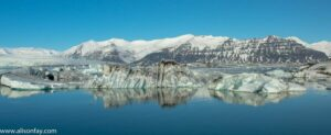 Landscape photo of Glacier Lagoon, Iceland