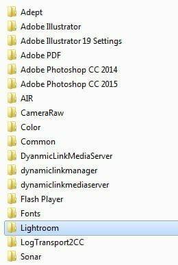 Select the folder named