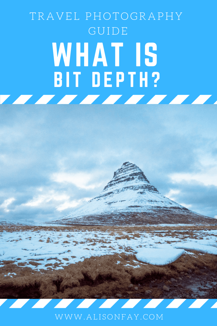 Pinterest Pinnable image for What is bit depth?