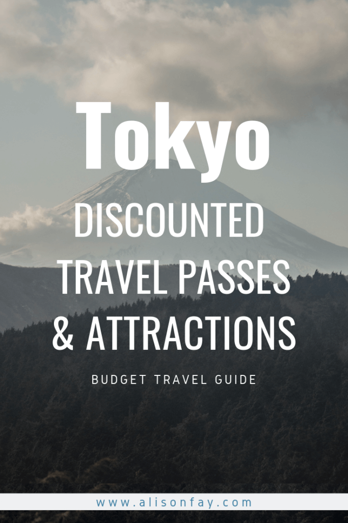 Tokyo Travel Passes and discounts guide
