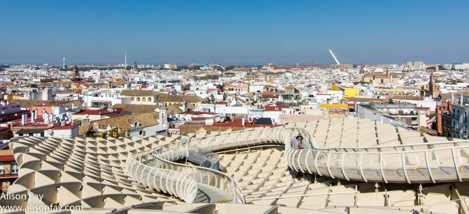 View from Metropol Parasol, Seville