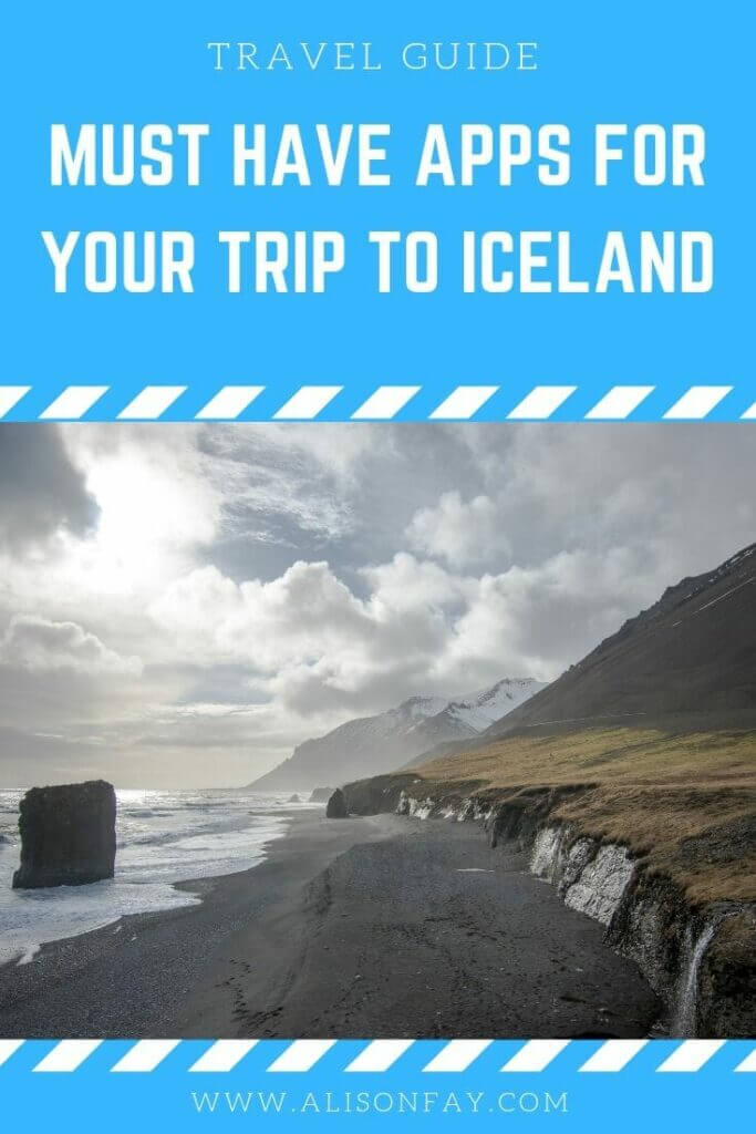 the best apps for roadtripping in iceland