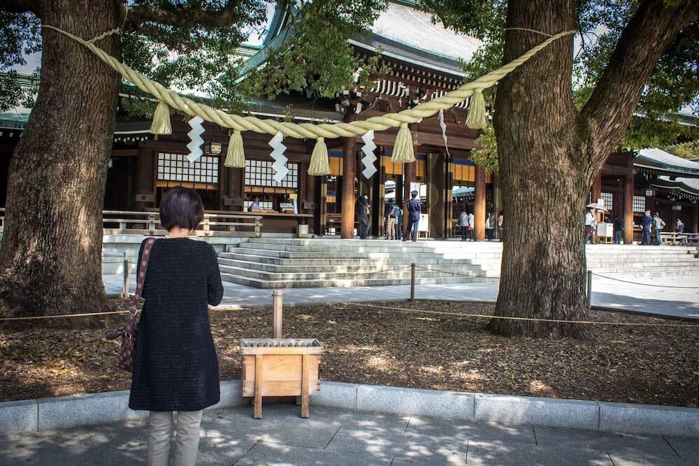 Photo of Meji Shrine in Ueno, Toyko