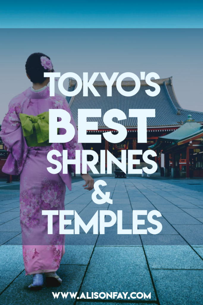 Pin image for Tokyo Shrines & Temples