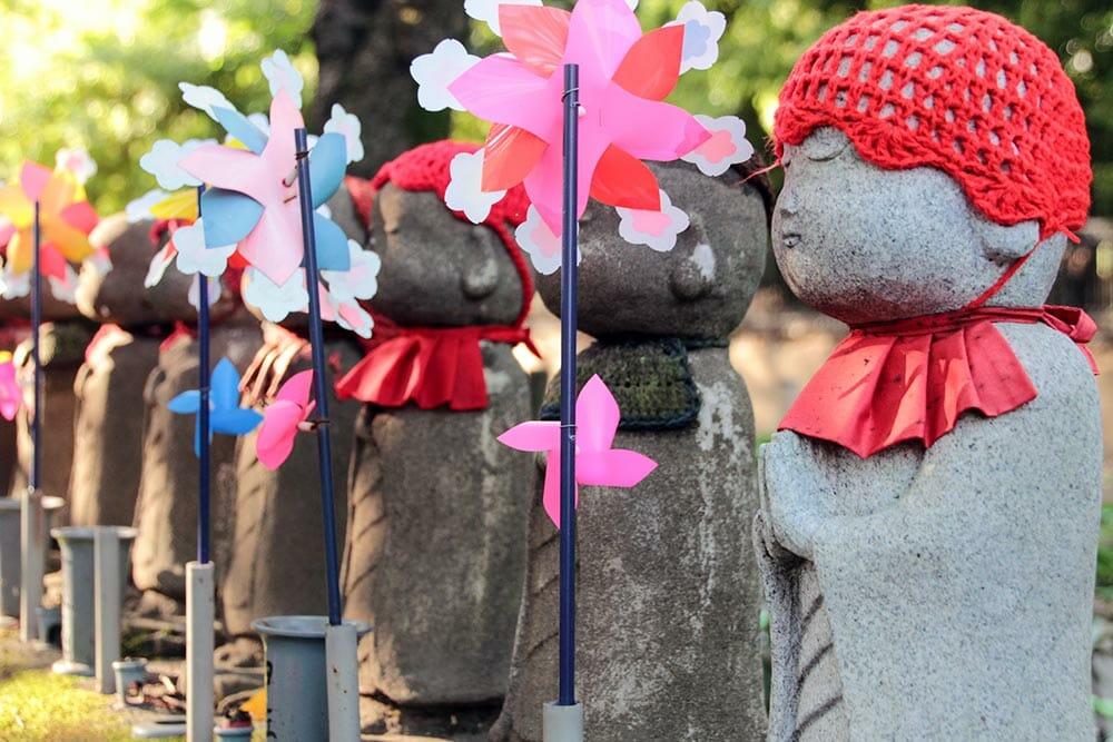The Unborn Children's Garden, at Zojoji Temple